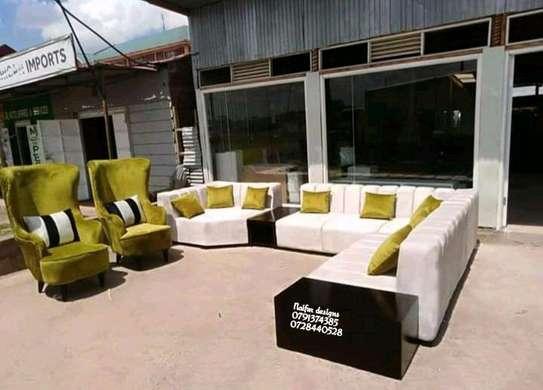 Latest ten seater sofa for sale in Nairobi Kenya/Seven seater L shaped sofas/single seater sofas/Best sofa designs for sale in Nairobi Kenya image 1