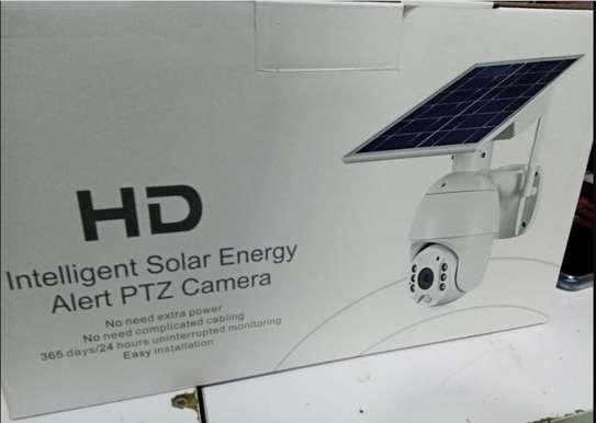 HD INTELLIGENT SOLAR ENERGY ALERT PTZ CAMERA image 1
