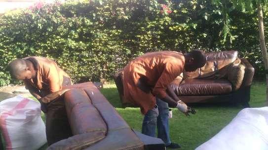 Leather Sofa Dye and Seat Repair image 5