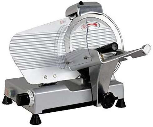 """10"""" Meat Slicer Semi-Auto Stainless Steel Cutter Cheese Food Electric Blade Kitchen Deli/Veggies for Commercial & Home image 4"""