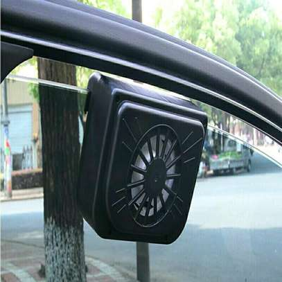 Car solar auto cool fan
