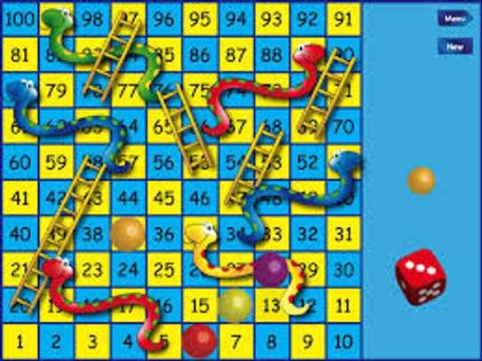 Snake and ladder game image 1
