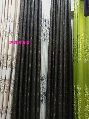 Elegant chocolate brown Curtains image 4