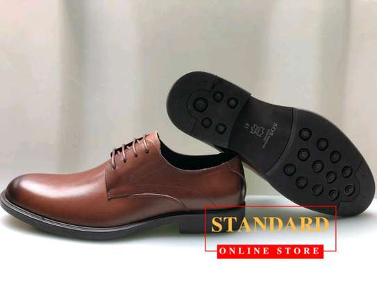 Men's Official Italian Leather Shoes with rubber sole image 17