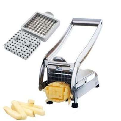 Potato Chipper Slicer Chip Chopper Maker French Fries image 1