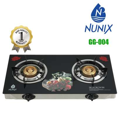 Nunix Tampered Glass Gas Table Cooker image 4