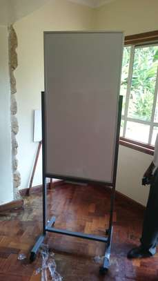 Portable Magnetic Whiteboard 2x4ft Available image 1