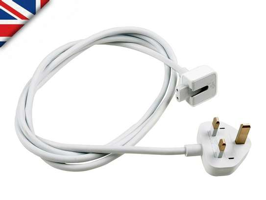 3 Pin Extension Cord/AC Adapter/ For Apple Macbook image 3