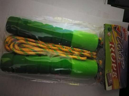 Multicolored Skipping Rope With Digital Counter image 3
