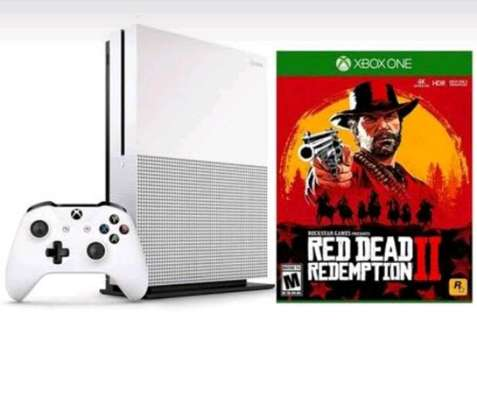 XBOX ONE S CONSOLE: Red dead redemption 2 bundle