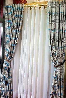 curtains gold prints heavy fabric image 1