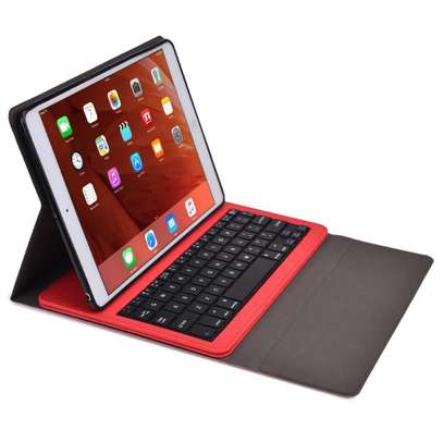 Removable Bluetooth Wireless Keyboard PU Leather Tablet Stand Cover Case for iPad 9.7 2017/2018 models[iPad 5th gen/6th gen] iPads image 5
