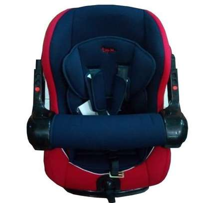Superior Infant Car Seat (0-36months)- Red & Blue image 1