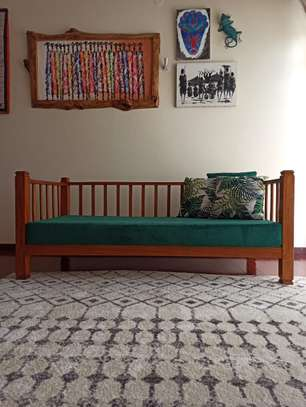 Emerald Green Day Bed image 1