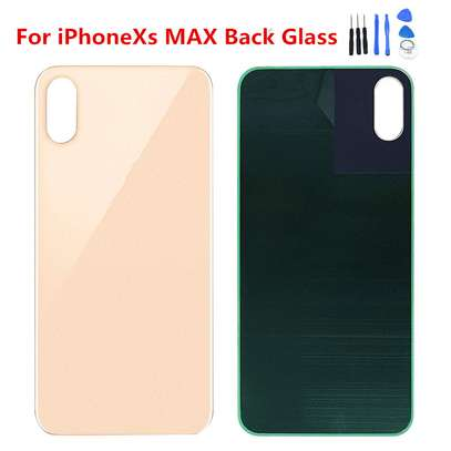 Battery Cover Replacement Back Door Housing Case For iPhone Xs Max image 4