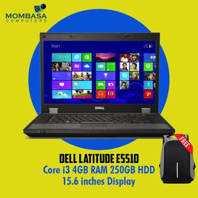 DELL Latitude E5510 Core i3 4GB RAM 250GB HDD image 1