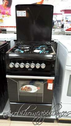 Von Hotpoint Cooker, 50x55cm, 3 Gas Burners and 1 Electric image 2