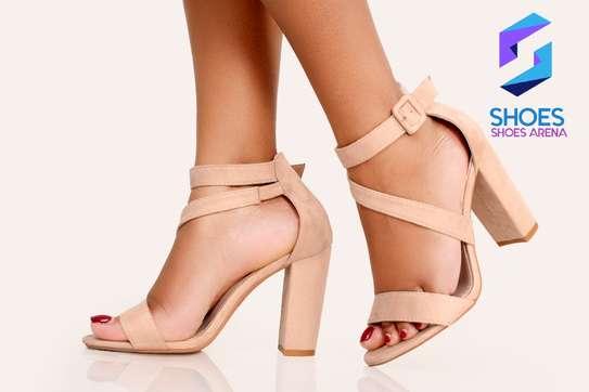 Classy chunky heels image 6