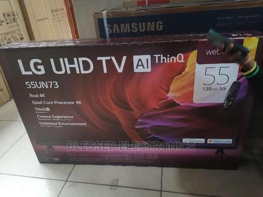 "LG 55"" 55UN7340 Smart Ultra HD 4K HDR LED TV image 1"