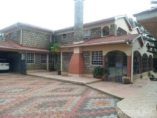4 bedroom home to let in Muthaiga north image 1