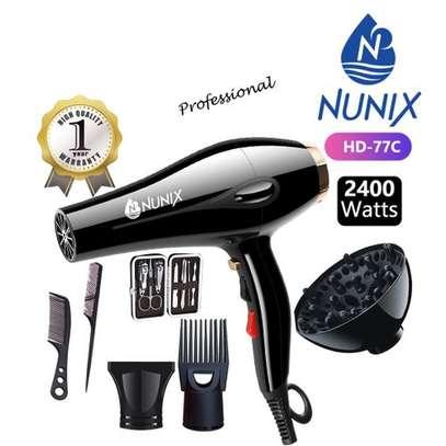 Nunix HD-77C Blow Dry Machine - 2400W - Black image 2