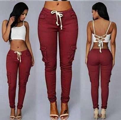 Ladies cargo pants image 1