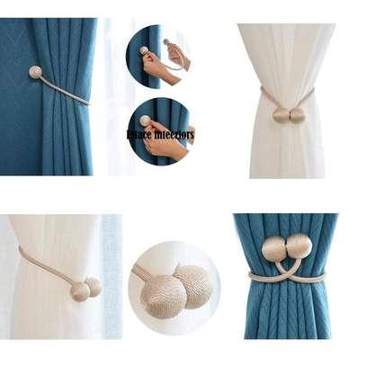 Magnetic  tie backs image 4