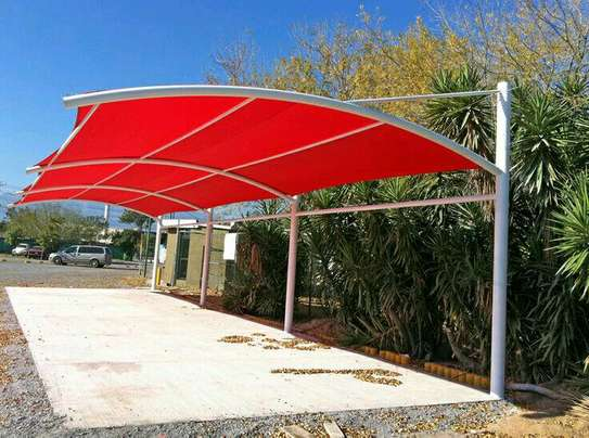Commercial Car Parking Shades