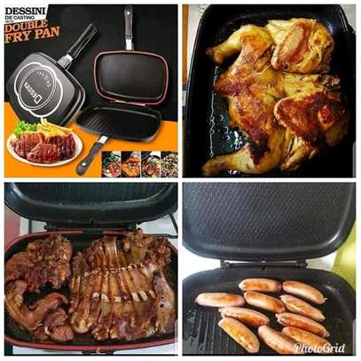 Dessini double sided grill pan