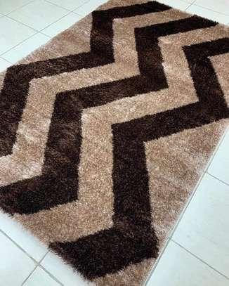 soft Turkish  carpet beige and brown image 1
