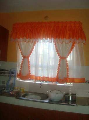 Home Kitchen curtains image 12