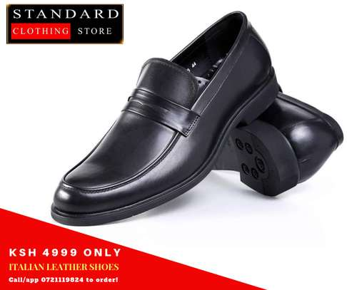 Black Formal leather shoes image 1
