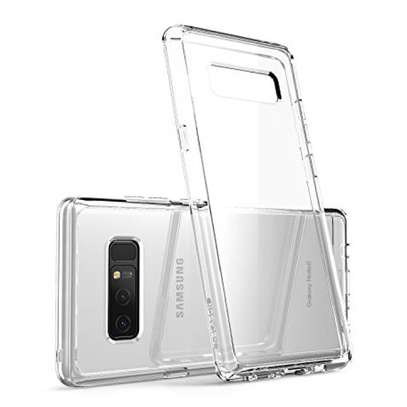 Clear TPU Soft Transparent case for Samsung Note 8 image 7