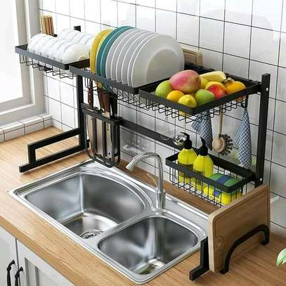 Over the sink draining rack image 1
