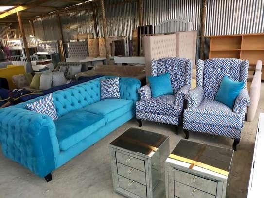 sofas/chesterfield sofas/three seater sofa/one seater sofa/complete set of sofas image 4