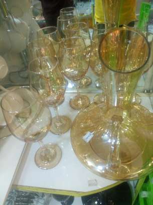 Wine Glass and Decanter image 2