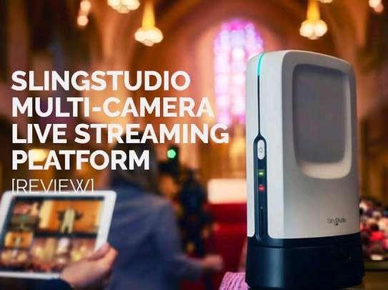 SlingStudio Hub - Bundle with 1 Pack CameraLink, USB-C Expander, Battery image 2