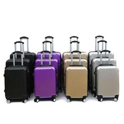 3pcs ABS Trolley Travel Suit Case Set image 1