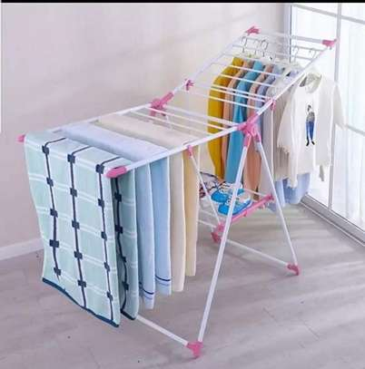 Portable adjustable Drying clothes rack image 1