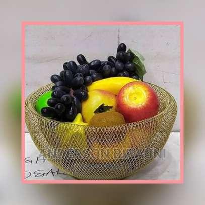 Electra Ionic Double Mesh Fruit Bowl image 1