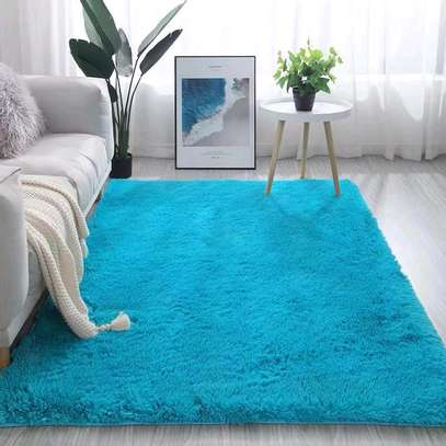 Fluffy Bedside carpets image 2
