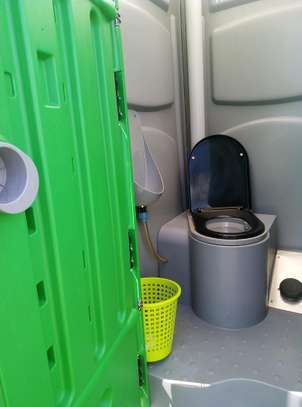 Mobile toilets available for hire image 2