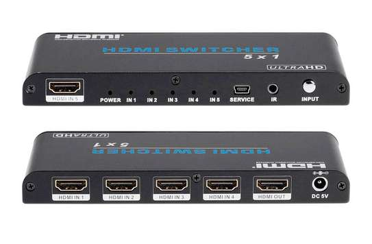 Ultra HD 4K 4 Port HDMI Splitter 1x4