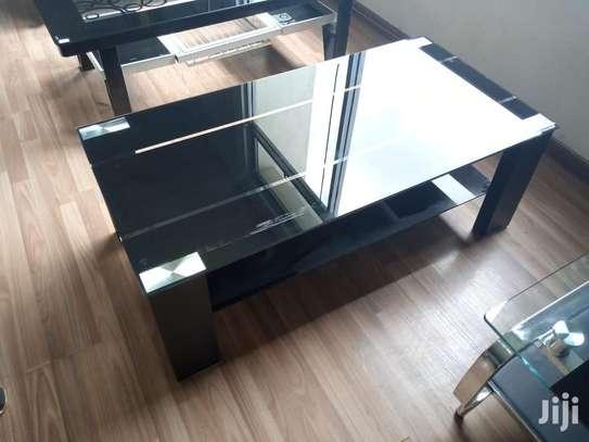 Crystal Black Coffee Table image 1