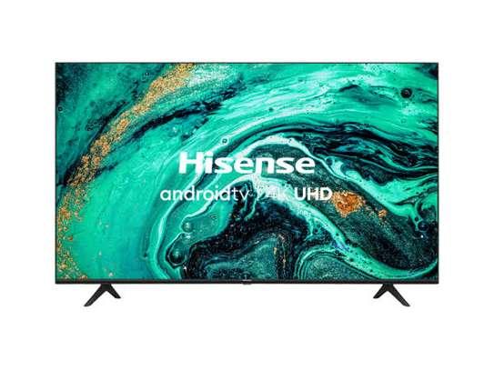 Hisense 55 inches Android Frameless UHD-4K Smart Digital TVs image 1