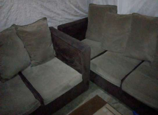 5Seater sofa 2sets:3seater,2seater slim sided.