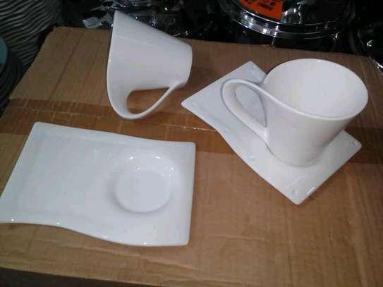 Cup saucer set image 1