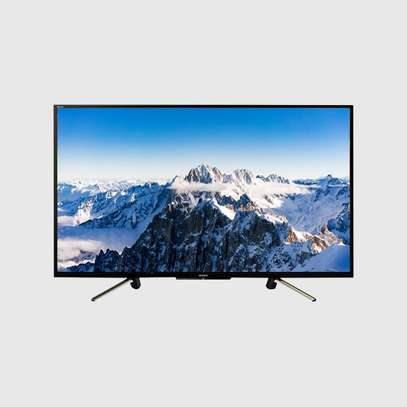 "Samsung 32"" HD Flat Smart TV HDR Television 32T5300 black 32 inch image 1"