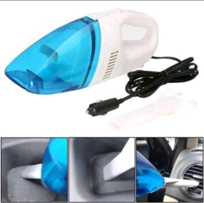 Small Handheld 12V Car Vacuum Cleaner image 1