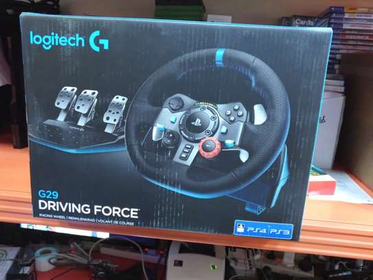 Logitech G29 Driving Force; Racing Wheel